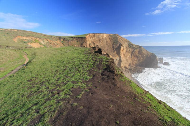 View at Chimney Rock In Point Reyes, CA
