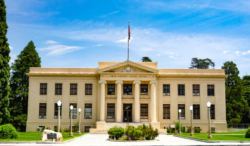 County Courthouse in Independence, CA