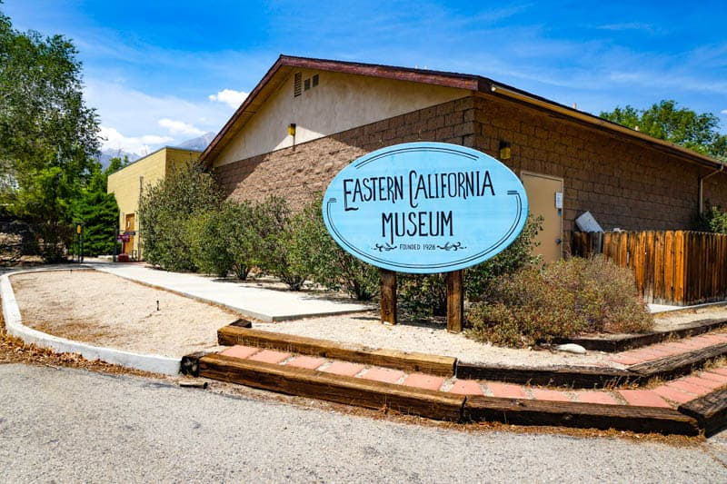 Eastern California Museum in Independence, California
