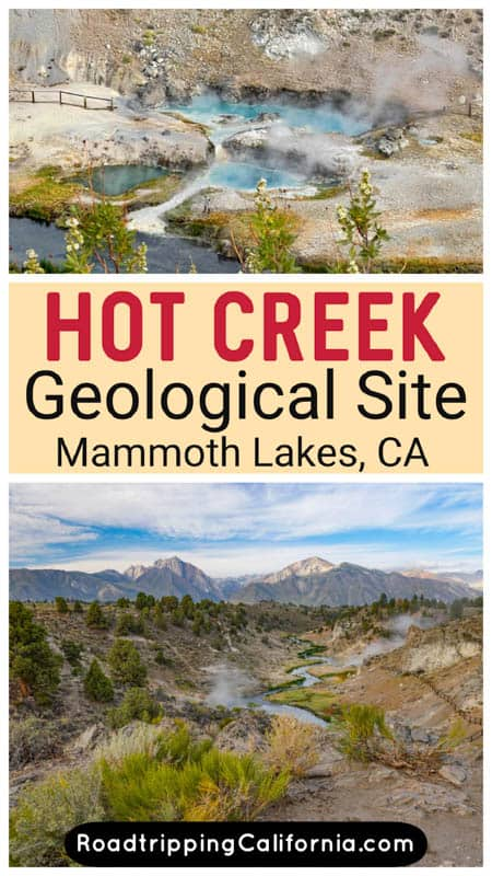Discover what to see and do at the otherworldly Hot Creek Geological Site in Mammoth Lakes, California. Best photo spots, best time to go!