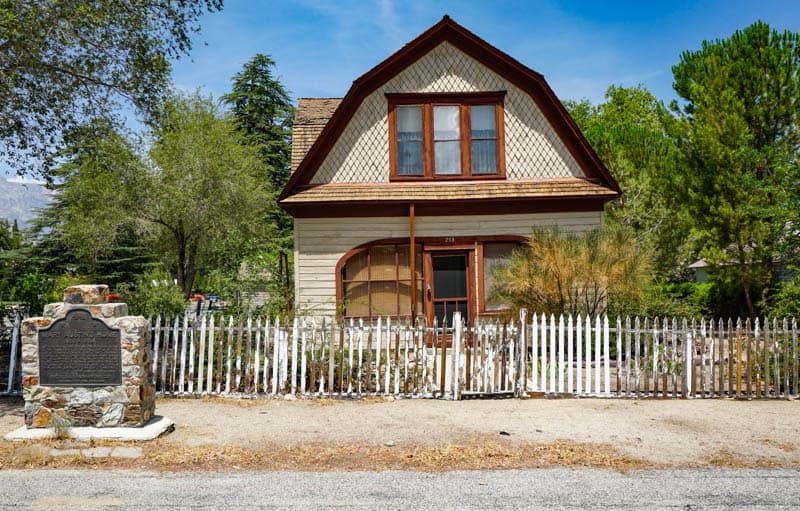 Mary Austin House in Independence California