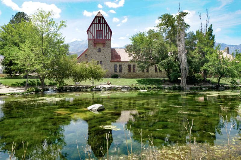 Mt. Whitney Historic Fish Hatchery in Independence, California