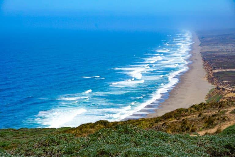 Point Reyes National Seashore in Northern California