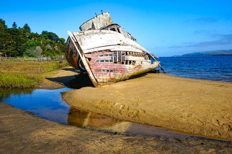 Point Reyes Shipwreck in Inverness, CA