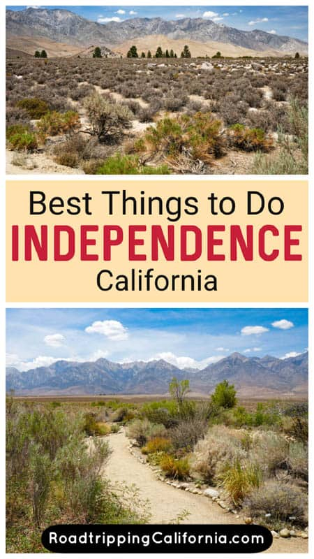 Discover the best things to do in and around Independence, CA! The Eastern Sierra community offers spectacular scenery as well as cultural and historical sights.