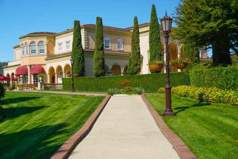 Ferrari-Carano Vineyards and Winery in Healdsburg, CA