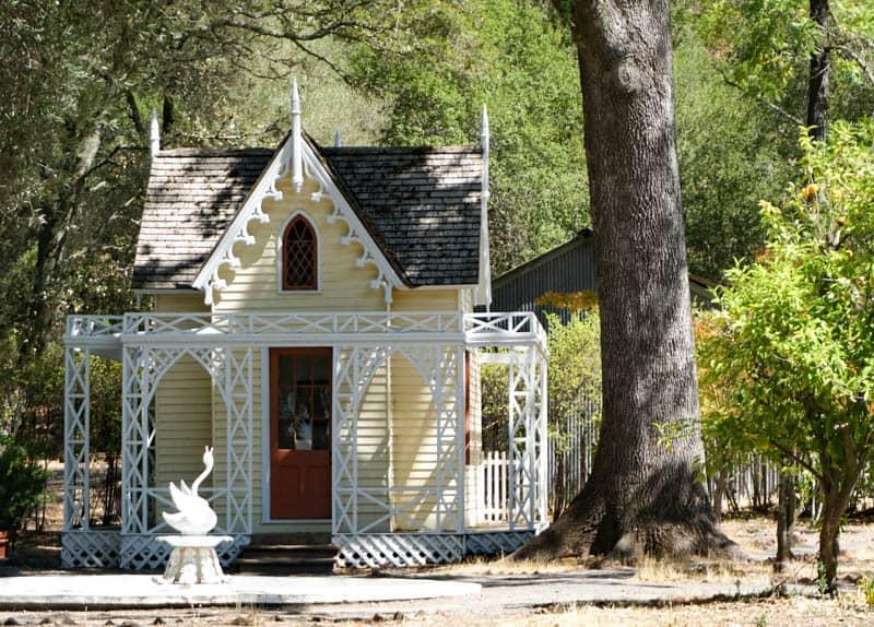 Garden House, El Delirio, at the Vallejo Home in Sonoma, CA