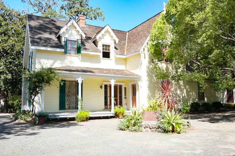 General Vallejo's home in Sonoma, California