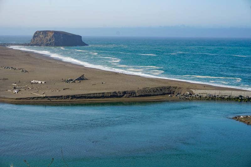 Goat Rock Beach in Jenner