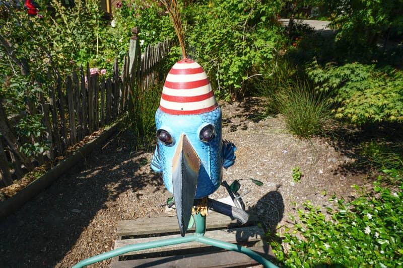 Junk Art in Sebastopol, California