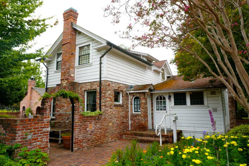 Luther Burbank home in Santa Rosa, CA