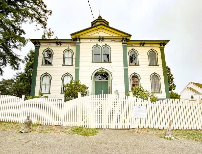Potter Schoolhouse Bodega California