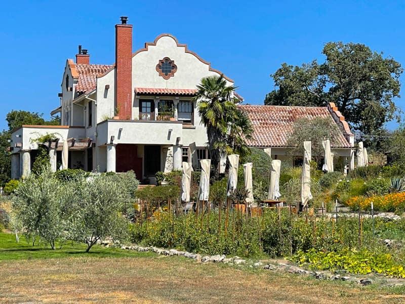 The Scribe Winery Hacienda in Sonoma, California