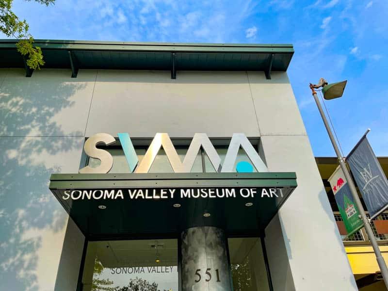 Sonoma Valley Museum of Art in Sonoma CA
