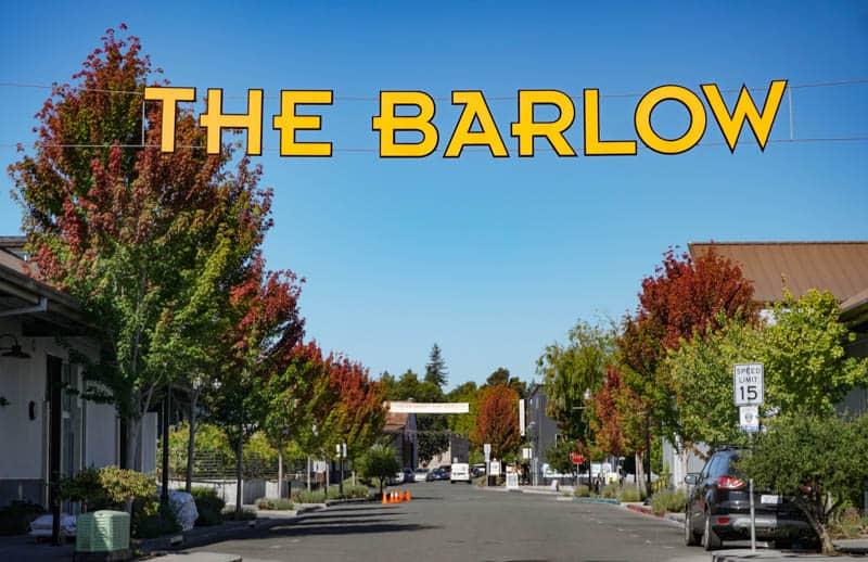 The Barlow Marketplace in Sebastopol CA
