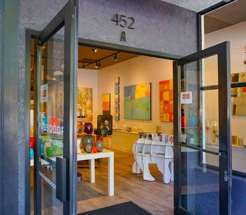 The Passdoor Art Ggallery and Design Studio in Sonoma, CA