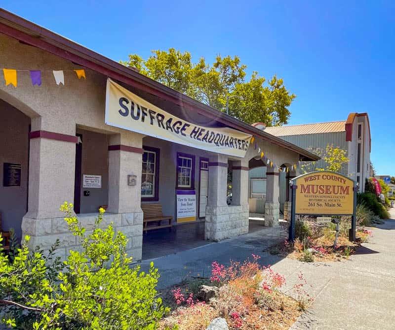 West County Museum in Sebastopol, California