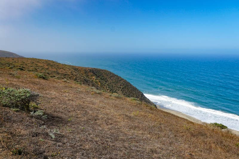 The shoreline is stunning at Point Reyes