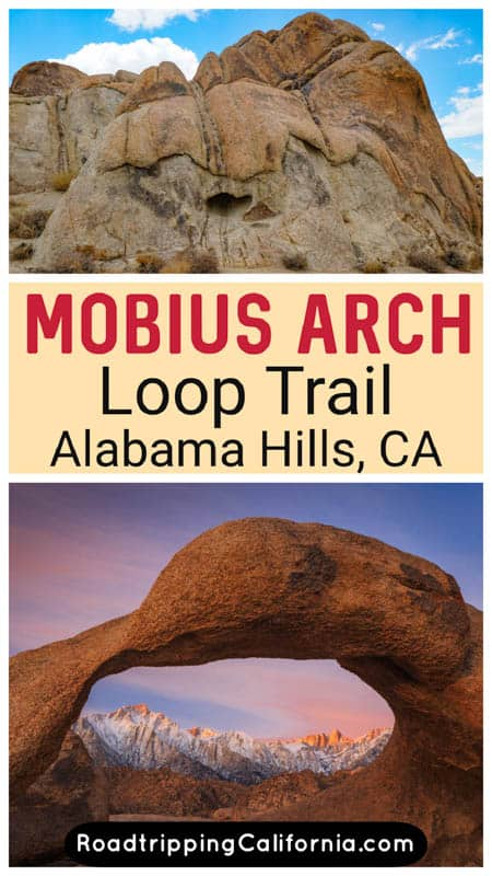 Discover how to visit beautiful Mobius Arch in the Alabama Hills at Lone Pine, California. Tips for hiking this short and family-friendly trail!