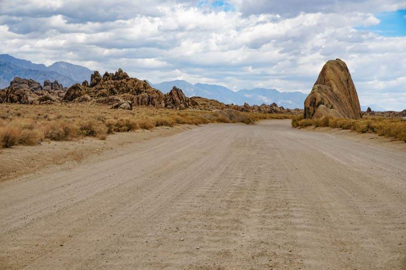 Movie Road in Lone Pine CA